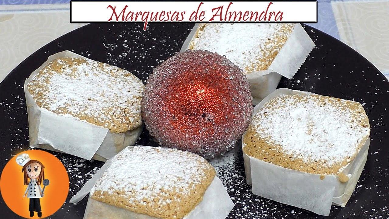 Postre de Navidad Marquesas de Almendra | Receta de Cocina en Familia