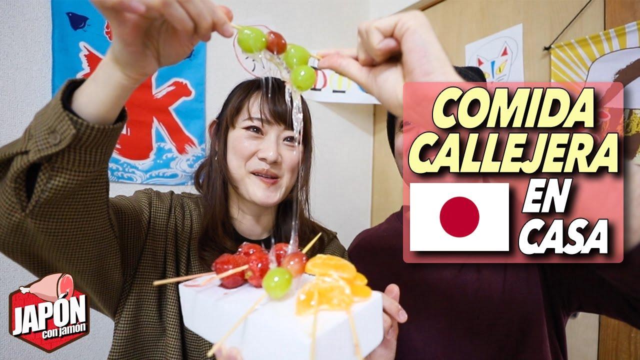 Puse una TIENDA de COMIDA CALLEJERA JAPONESA en casa ¡4 recetas!