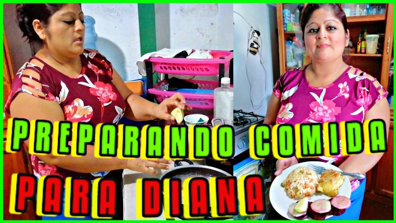 RECETA COMIDA A DIANA DESPUES DE SU PARTO DE GAELITO. COMIDA POR  LA CESARÍA @DIANA HERNÁNDEZ