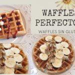 RECETA De Waffles Perfectos! - Waffles Sin Gluten!