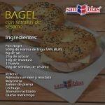 RECETA EN VIVO - Bagels con harina de trigo SAN BLAS  Mi receta de cocina