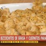 Receta bizcochitos de grasa y cuernitos para el mate  Mi receta de cocina