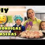 """Receta de albóndigas CASERAS """"WAKETERAS"""" DIY FÁCIL y SANAS para hacer con NIÑOS #waketevlogs #vlogs"""