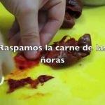 Recetas de cocina-Fandango de bacalao-Mesón El Granaino
