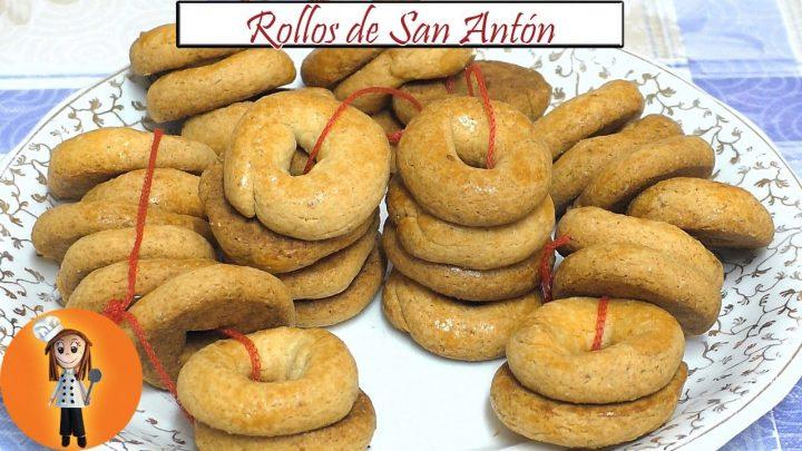 Rollos de San Antón | Receta de Cocina en Familia
