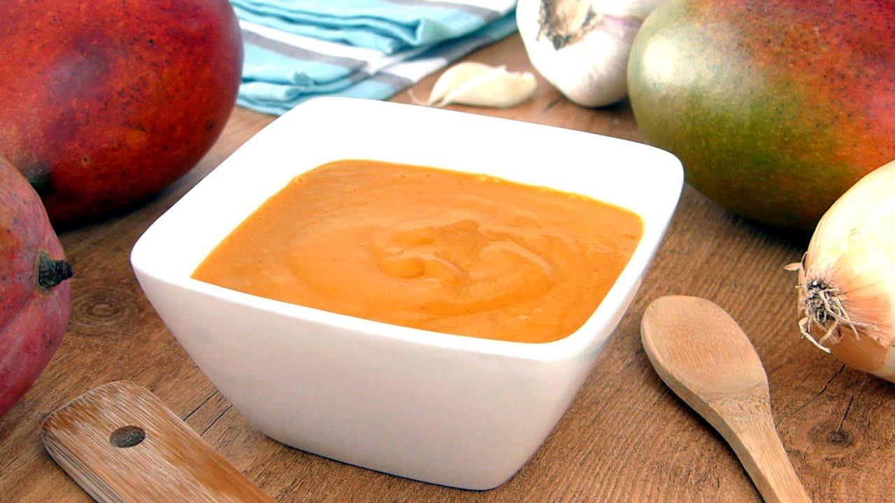 Salsa de Mango (Receta de Salsa)