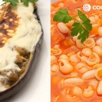 Sopa minestrone con alubias blancas - Berenjenas rellenas de pollo - Cocina Abierta