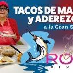 TACOS DE MARLIN + Aderezo | RECETA | Doña Rosa Rivera Cocina