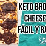 🍫THE BEST KETO CHEESECAKE BROWNIE | POSTRE BROWNIE Y CHEESECAKE FÁCIL Y RÁPIDO | Manu Echeverri  Mi receta de cocina