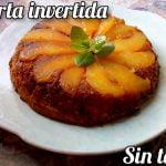 TORTA INVERTIDA DE PERA SIN TACC   CELIAMARIANG  Mi receta de cocina