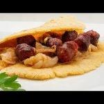 Talo con txistorra, por Joseba Arguiñano - Receta tradicional de la cocina vasca