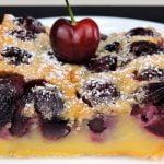 Tarta de Cerezas fácil (receta de clafoutis)  Mi receta de cocina