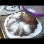 Thermomix Bizcocho de chocolate,platano y nueces