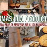 VLOGMAS 2020🎄RECETA MAGDALENAS DE MANZANA 🍎DESPUES DE UN DIA PRODUCTIVO de Limpieza de casa CONMIGO🏡  Mi receta de cocina