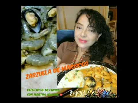 ZARZUELA DE MARISCOS RECETAS DE MI COCINA CON MARTHA AGUIRRE