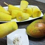helados de mango biche - receta de helados de mango biche