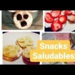snacks saludables/Recetas con arroz inflado/Imitando recetas de tick tock/comida saludable
