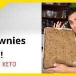 ¡Horneando Brownies Keto! #Ketopostre  Mi receta de cocina