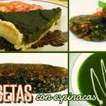¿Tienes espinacas y no sabes qué cocinar? te compartimos 4 deliciosas recetas - Cocina Vegan Fácil