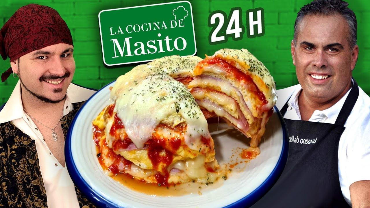 24 Horas COCINANDO recetas de LA COCINA DE MASITO