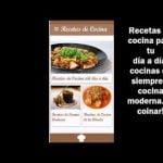 App Recetas de cocina casera [ Recetas cocina faciles, caseras y de hummus ]