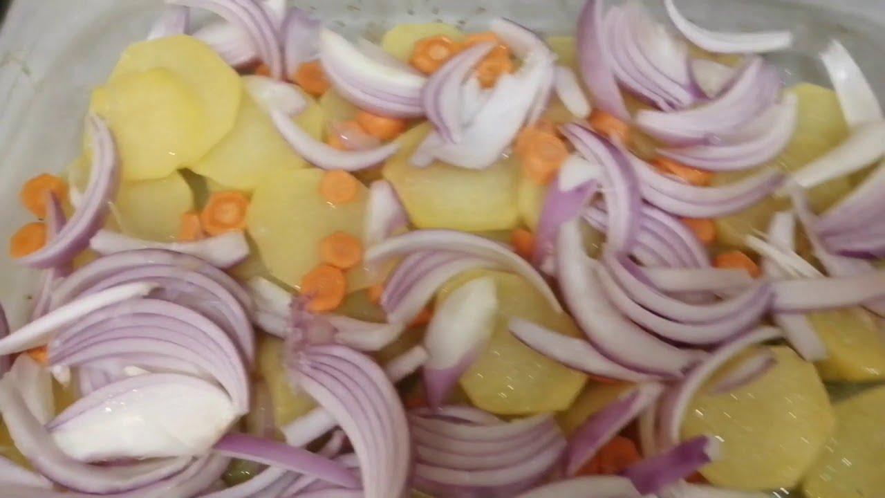 BACALAO AL HORNO FACILISIMO /Recetas de cocina.