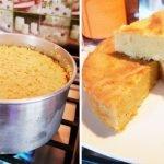 BIZCOCHO DE LECHE CONDENSADA EN SARTÉN SIN HORNO|MUY SUAVE Y ESPONJOSO 🤩😋👍  Mi receta de cocina