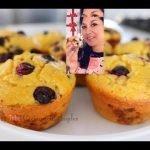 Blueberry Muffins bajos en carbohidratos / Keto Diet / Dieta cetogenica  Mi receta de cocina