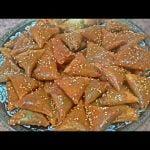 Briwat de cacahuetes y Sésamo /comida de Marruecos con Hakima.  Mi receta de cocina