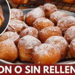 Buñuelos Rellenos   Dulces Fritos , Receta Fácil y Rápida   Katastrofa la cocina
