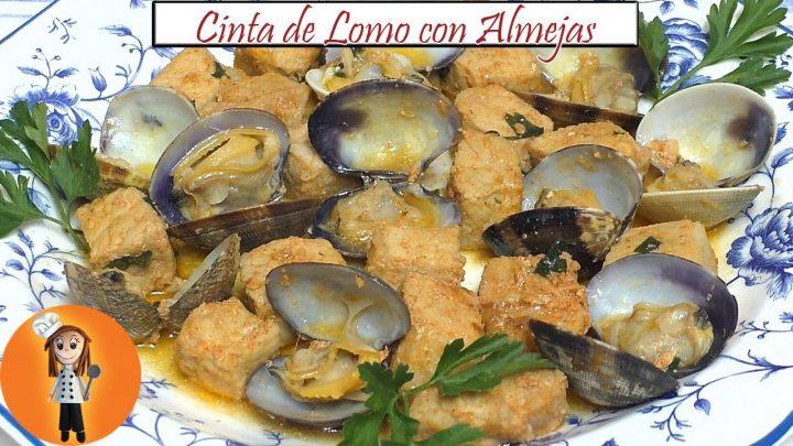 Cinta de Lomo con Almejas | Receta de Cocina en Familia
