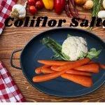 Coliflor Salteado. Chop Suey Recetas de Cocina  Fácil y Rápido