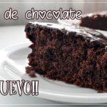 Como hacer una Torta de Chocolate Sin Huevo/ RECETA SUPER FACIL