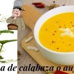 Crema de calabaza o auyama  😋 Recetas de cocina fácil rápido y económica 💪