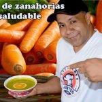 Crema de zanahorias y espinacas 🥕 #comidasaludable