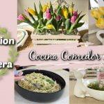 Decoración Primavera 2021 | Cocina, Comedor y Sala / Receta De Comida Sandy Bella