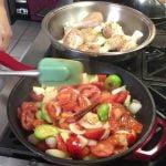 Estofado de pollo/receta de Guatemala/Violeta's recetas de cocina