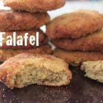 Falafel de garbanzos (otra receta vegana!!)  Mi receta de cocina