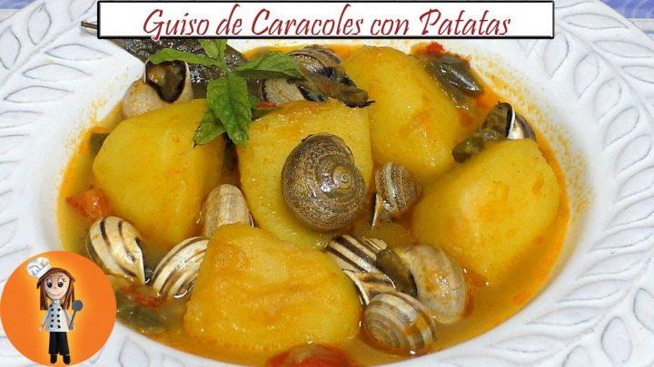 Guiso de Caracoles con Patatas | Receta de Cocina en Familia