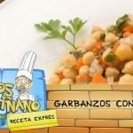 Karlos Arguiñano: Receta de Garbanzos con acelgas