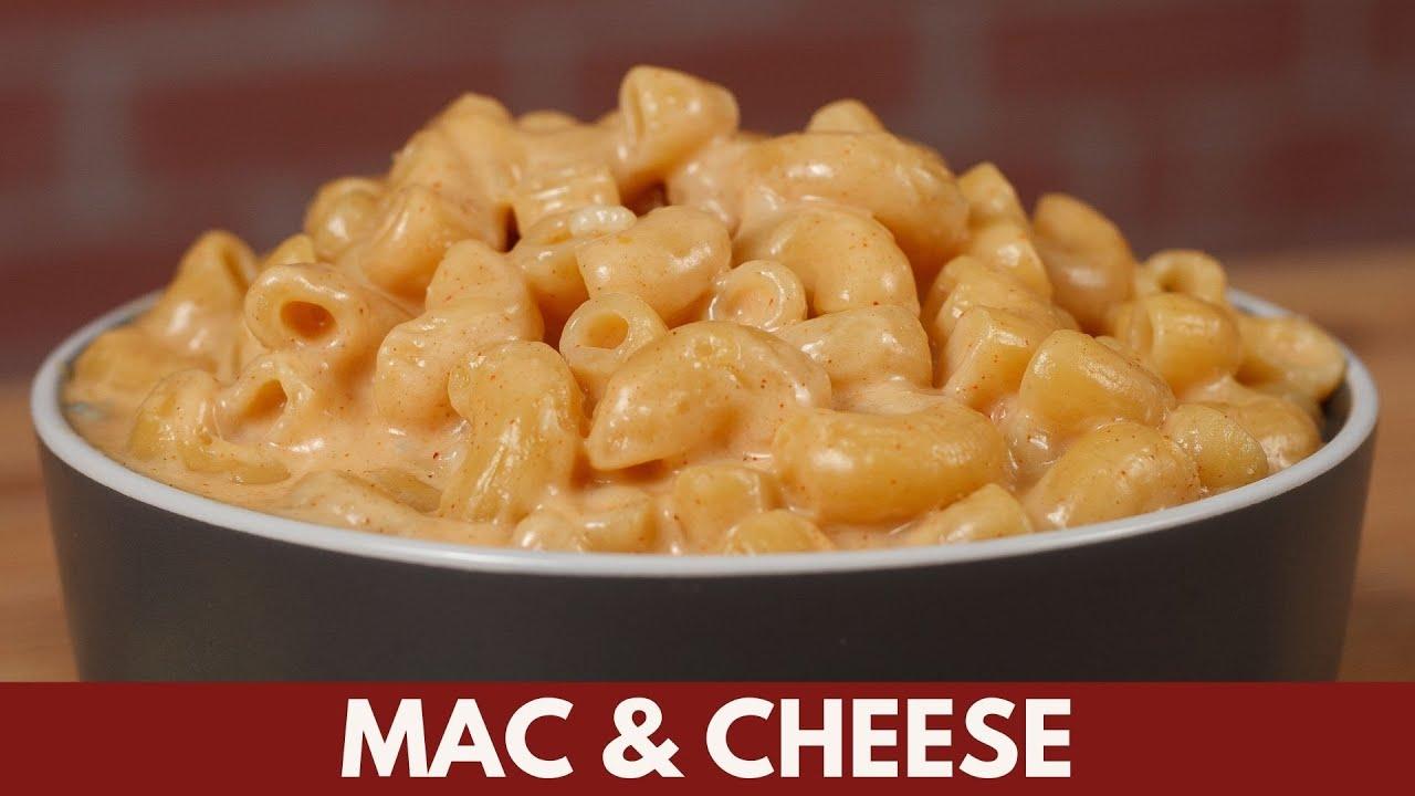 Macarrones con Queso   La receta de Mac and Cheese mas fácil y rápida   Katastrofa La Cocina
