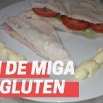 Pan de MIGA sin gluten (pan de SÁNDWICH sin gluten,sin huevos y sin lácteos)🥪  Mi receta de cocina