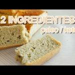 Pan o Bizcocho Paleo / Keto | solo 2 INGREDIENTES | muy fácil y rápido | sin frutos secos sin azúcar  Mi receta de cocina