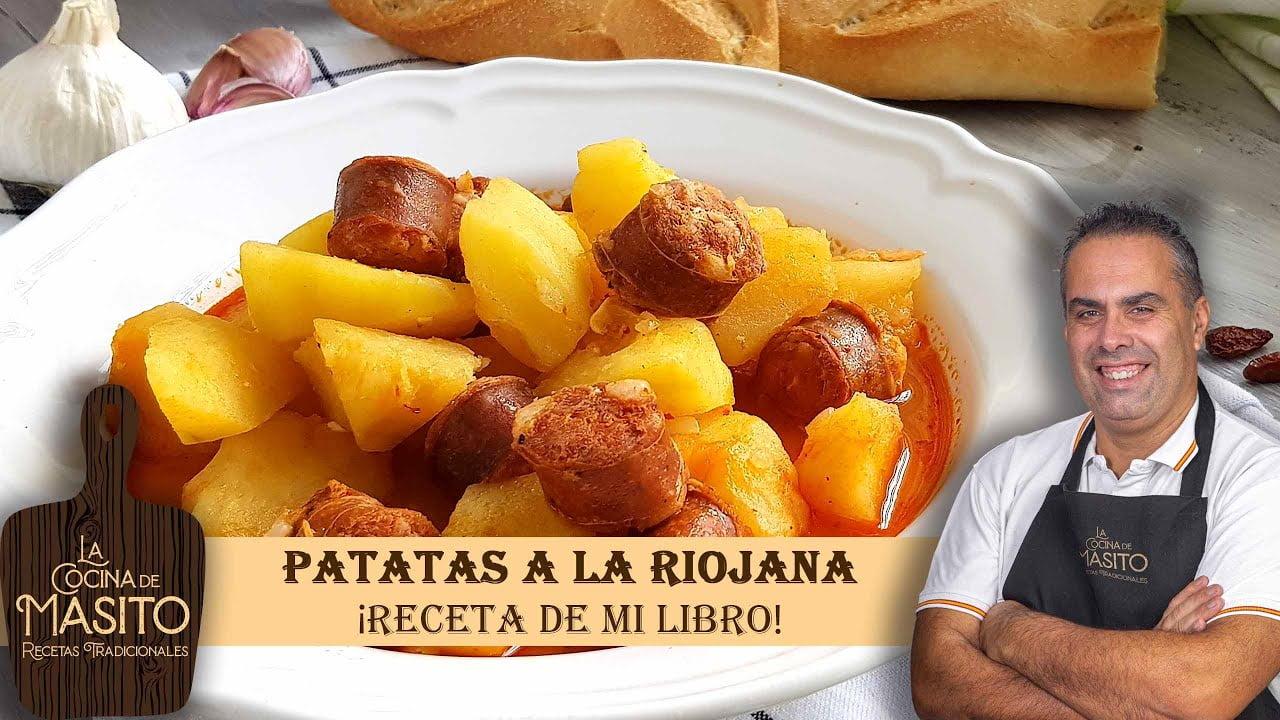 Patatas a la riojana receta de mi libro de cocina