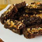 Postre Saludable EN MINUTOS - BROWNIE Sin Harina, Sin Mantequilla, Menos Azúcar   Cocina de Addy