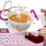 "RECETA de CALDO DE POLLO   Doña Rosa Rivera ""La Gran Señora"" Cocina"