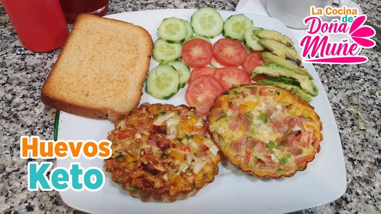 Receta de Huevos Keto - La Cocina de Doña Muñe
