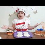 Receta de Sándwich para niños -Anita en la cocina- Recetas divertidas para niños.