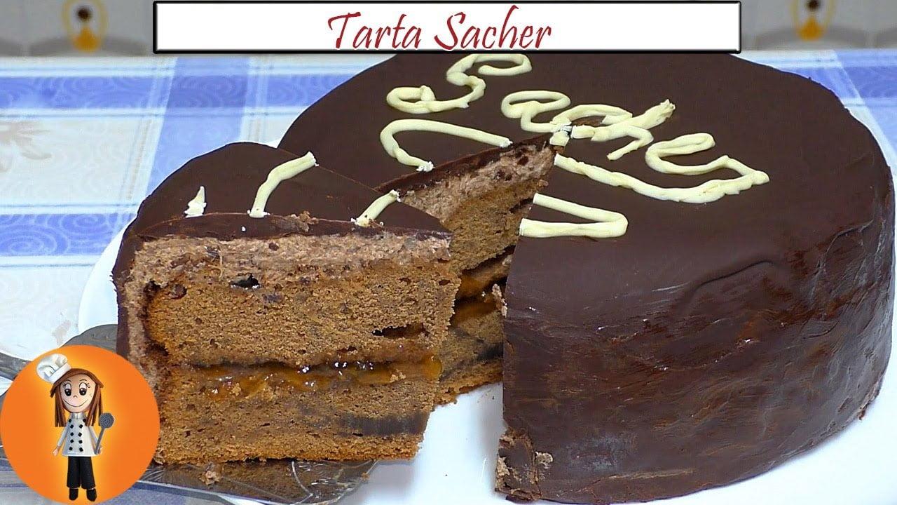 Tarta Sacher Especial Día del Padre | Receta de Cocina en Familia
