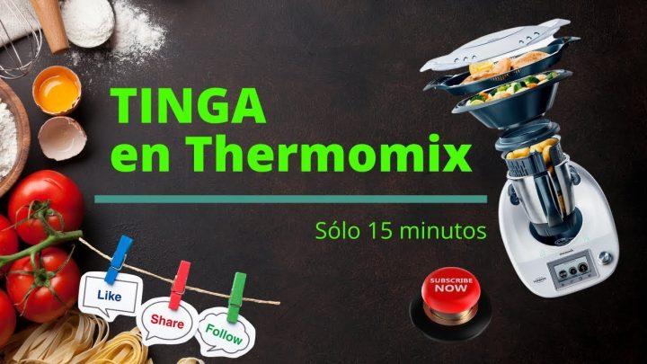Tinga en Thermomix, Una receta fácil y saludable  Robot de cocina